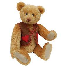Rare limited edition Lin Davies mohair bear