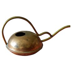 Cute old brass miniature watering can