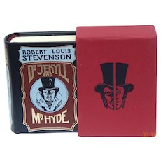 Quality leather mini book Dr. Jekyll & Mr. Hyde