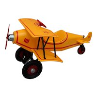 Vintage Kiddie Car custom biplane-2nd one made!