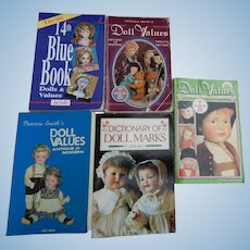 Vintage price guides & reference books