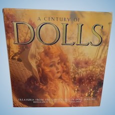 A Century of Dolls vintage book