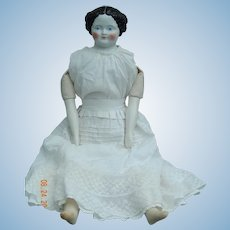 """30"""" Civil War flat top china-repaired"""