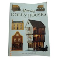 Making Dolls' Houses 1/12 scale, book of plans & instructions