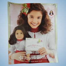 2010 American Girl catalogue-FREE shipping