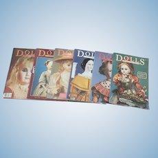 Dolls magazine 1983-1988