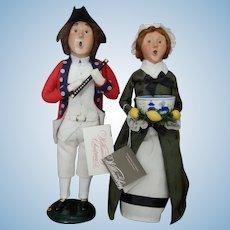 Vintage Byer's Choice Williamsburg dolls