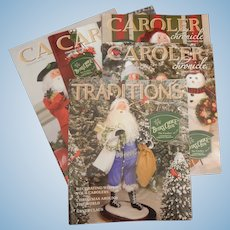 Byer's Choice caroler doll catalogs-FREE shipping
