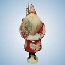 Nice vintage Santa candy container