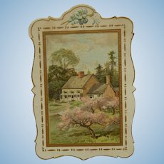 Beautiful antique die cut for the dollhouse