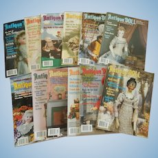 Antique Doll Collector magazine-2005