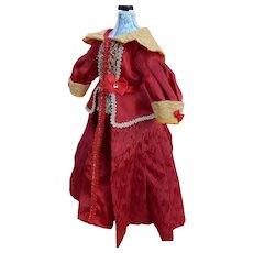 Pretty vintage dress for fashion lady doll