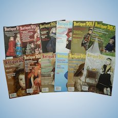 Antique Doll Collector magazine-2009