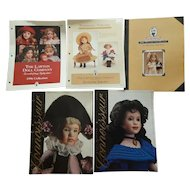 Wendy Lawton doll collection brochures 1996-2001
