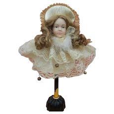 Artist porcelain doll display