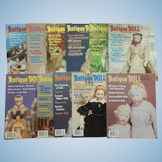Antique Doll Collector magazine-2004