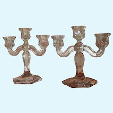 Lovely vintage doll candelabras
