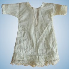 Antique chemise for French fashion/small bebe