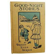 Sweet antique Good-Night Stories book for dolls
