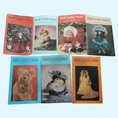 Doll Castle News magazine lot 1991-1993: Free shipping!
