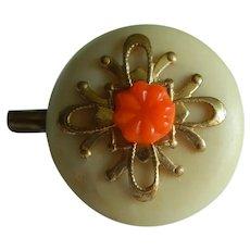Lovely vintage handmade pin for doll