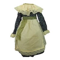 "Cute vintage dress for 20""-21"" doll"