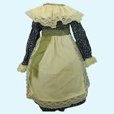 """Cute vintage dress for 20""""-21"""" doll"""