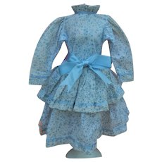 """Cute vintage doll dress for 12""""-15"""" doll"""