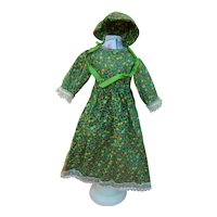 Charming vintage doll dress & bonnet for china