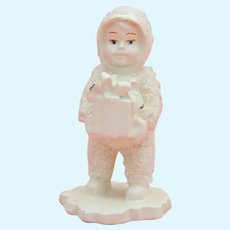 Vintage Dept.56 snow baby