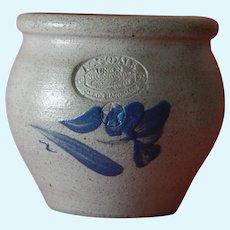 Cute doll size vintage salt glazed pottery