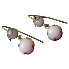 Beautiful couture pink earrings for bebe