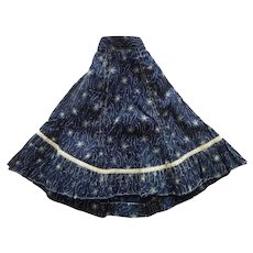 Beautiful antique skirt for china head doll