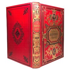 """Antique Nineteenth Century French Book """"Le Robinson Suisse"""""""