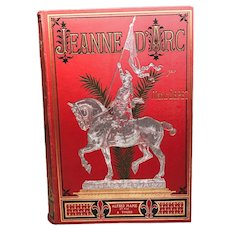 Antique Nineteenth Century French Binding, Jeanne d'Arc, circa 1887