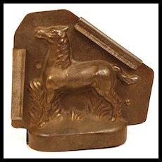 Rare Vintage German Horse Chocolate Mold