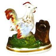 Antique French Porcelain Figural Porte Stylo