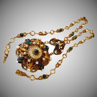 Hobe Austro~Hungarian necklace