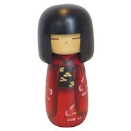 Vintage Kokeshi Doll Japan in Original Box
