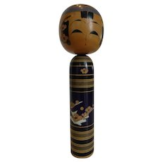 Vintage Exceptional  Japanese Kokeshi  Doll Artist Signed