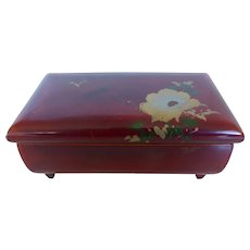 Japanese Lacquer Music Jewelry Box