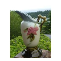 Hull Pottery Woodland Ewer W3 – 5 1/2""