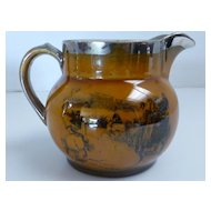 Ridgeways 'Coaching Days' Cream Pitcher, England