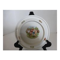 Vintage Royal Baby-Plate Bowl Dish 1905 Germany