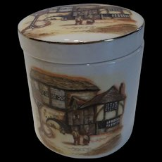 Sandland Ware Marmalade Jar Stafforshire, England