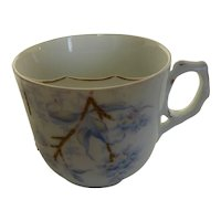 Vintage Early 1900's Porcelain Mustache Cup Hand Painted Germany
