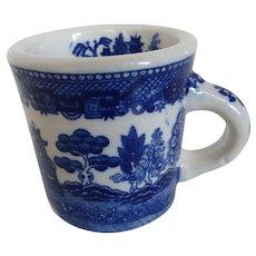 Blue Willow Coffee Mug NASCO Japan