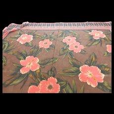 Vintage Dana Buchman Large Silk Scarf 42 Inches