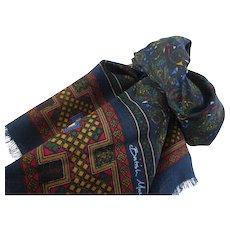 British Museum Fine Wool Scarf Celtic Spirals Design