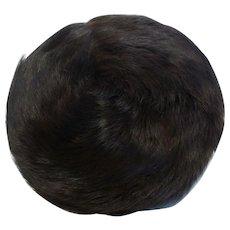 Natural Fur 'Snowflake' Pillbox Hat by Douglas of California 1946